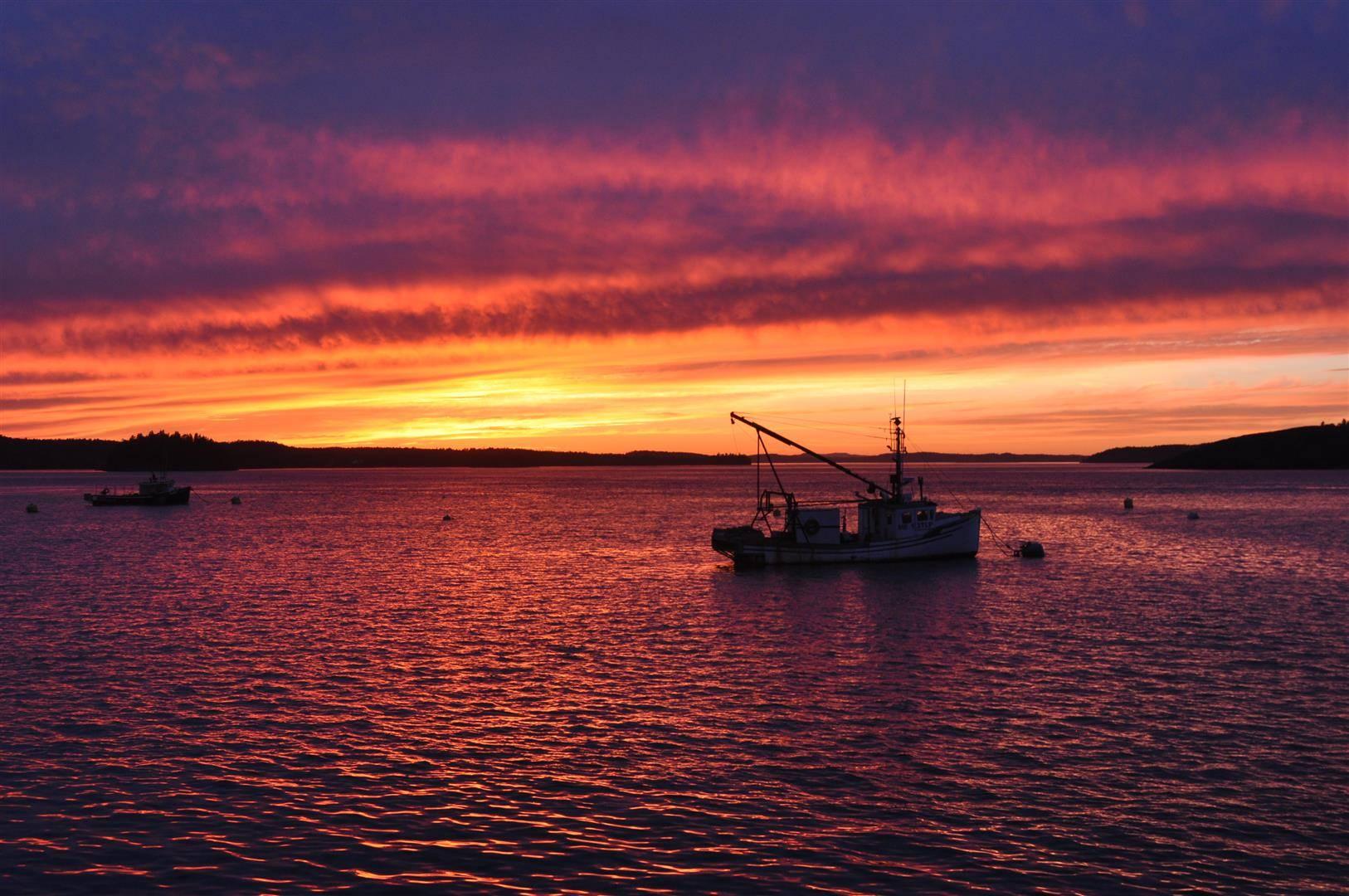 Sunset, Lubec, ME 5
