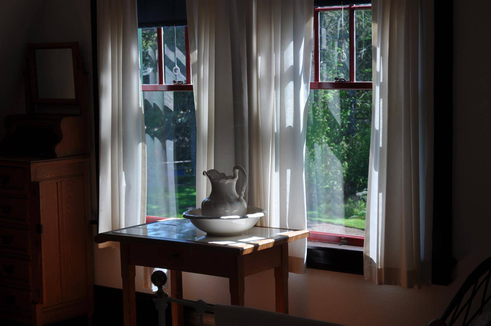 Roosevelt Cottage Window