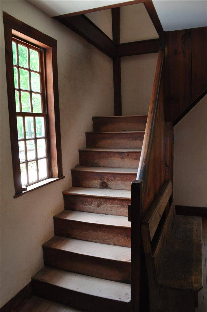 Stairway, Friends Meetinghouse