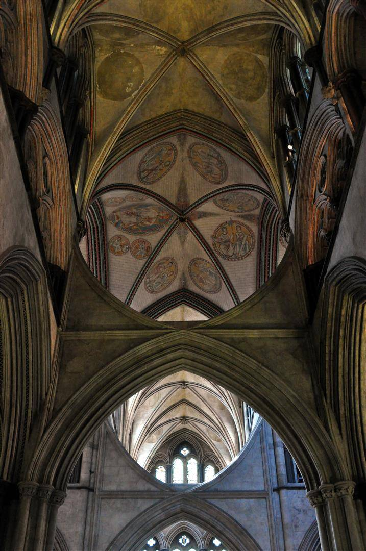 Ceiling 1, Salisbury Cathedral
