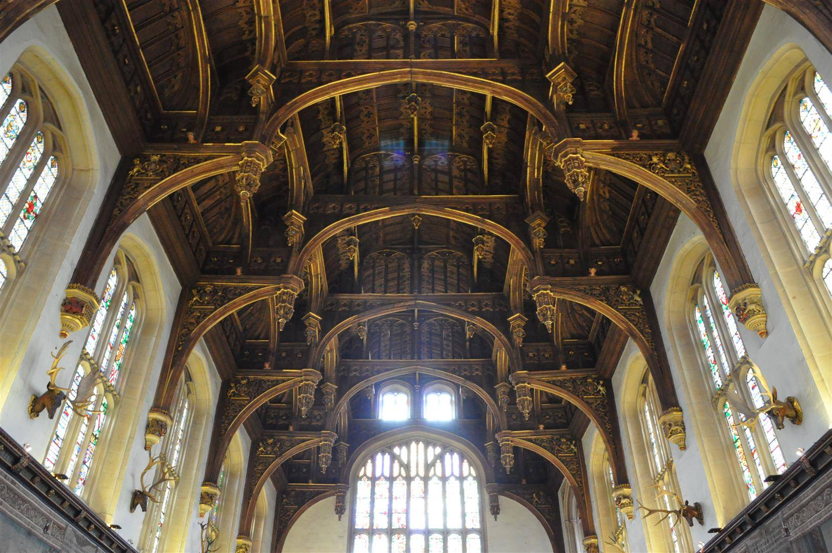 Ceiling, Great Hall, Hampton Court