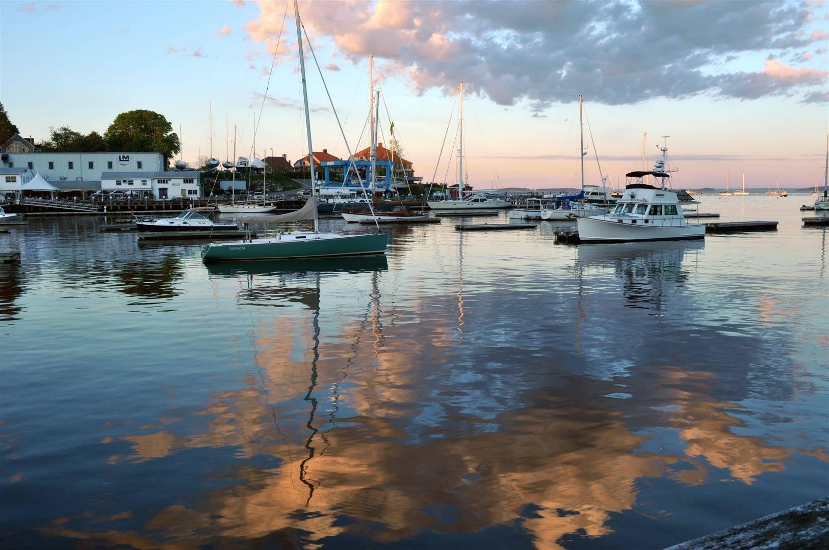 Harbor Sunset, Camden, ME 1