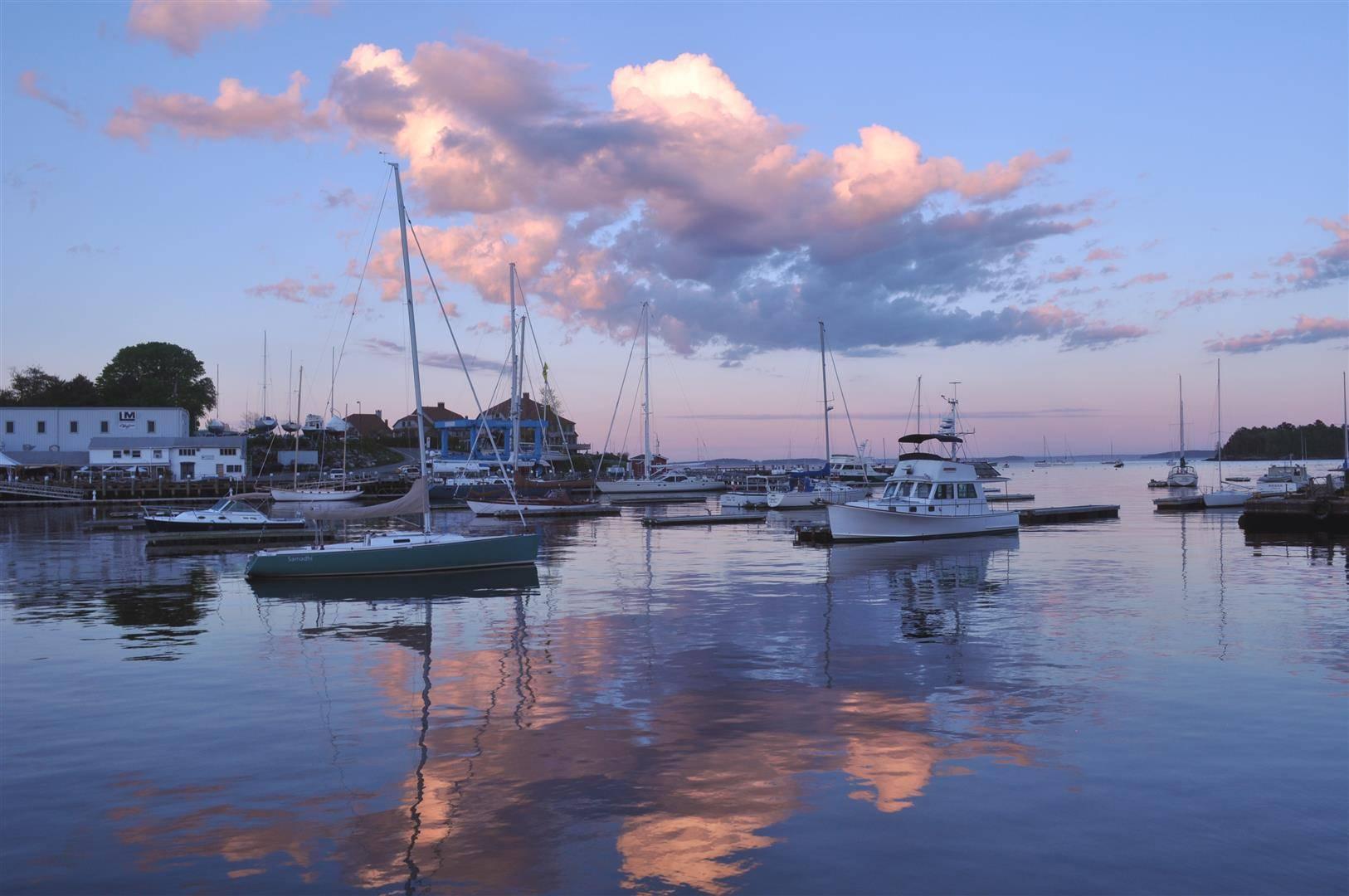 Harbor Sunset, Camden, ME 2