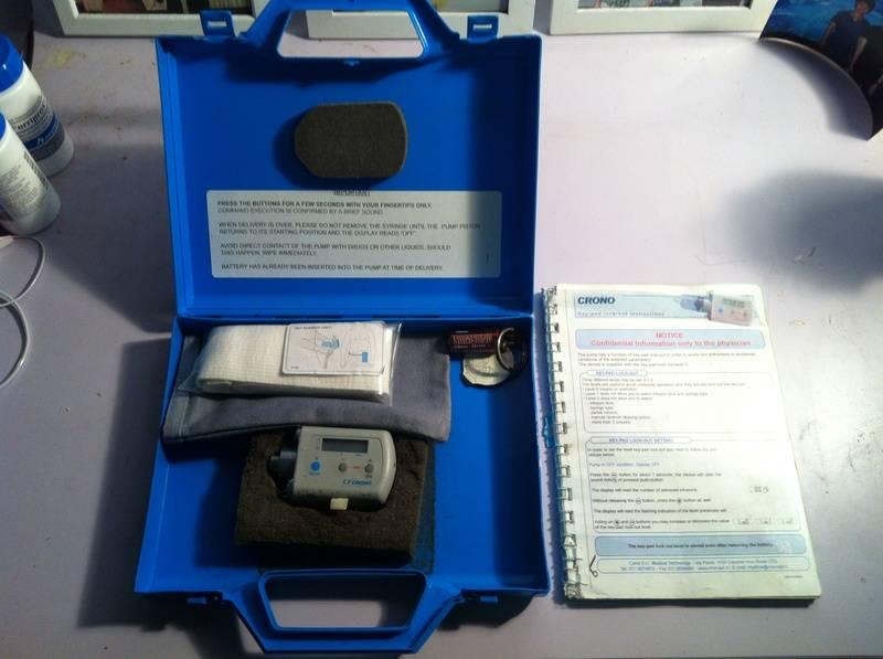 DESFERAL INFUSION BOX SET