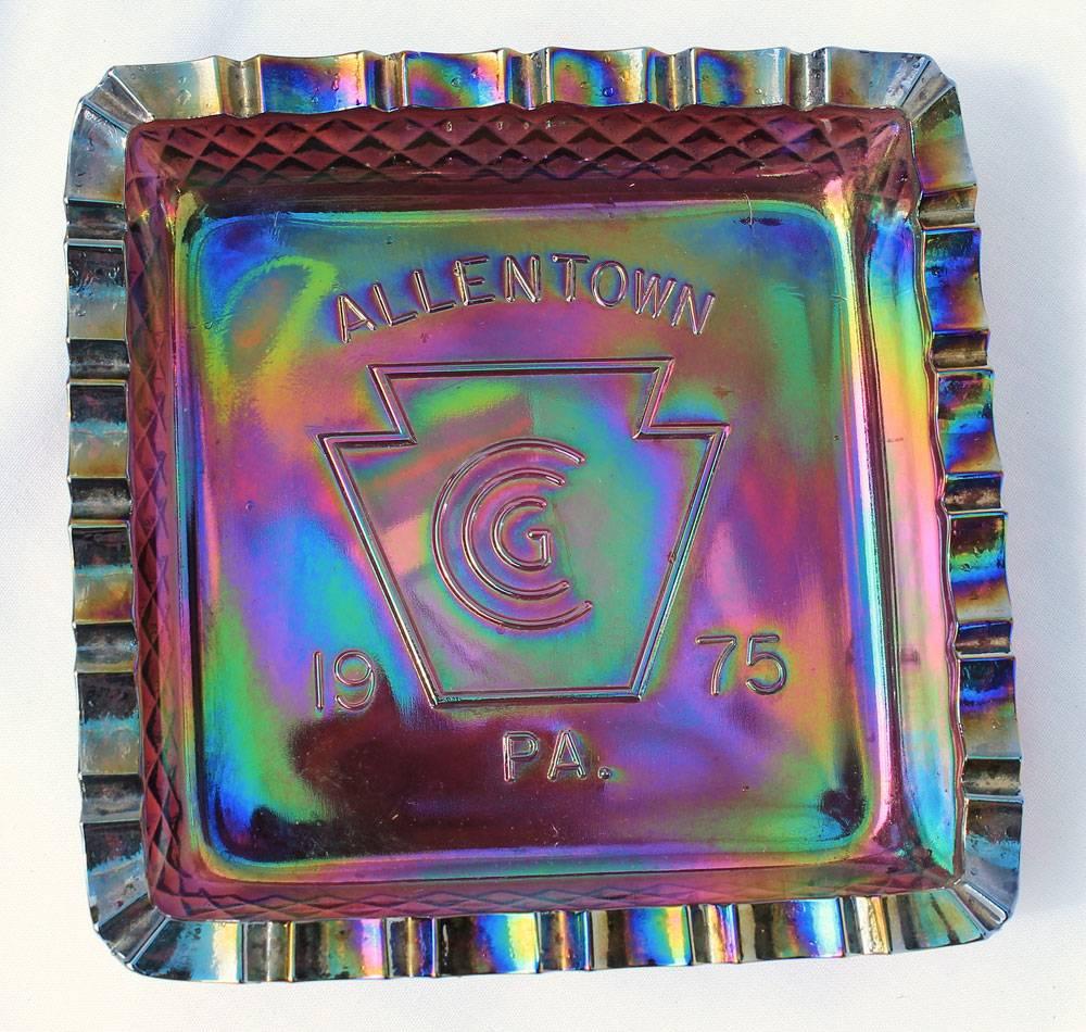 Allentown ashtray 1975
