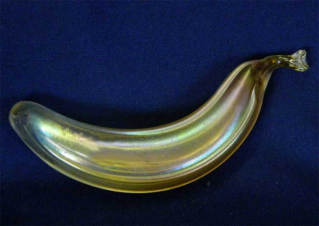 a banana novelty paperweight
