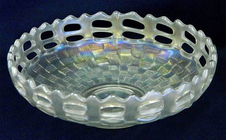 Open Edge basket, IC shape, white