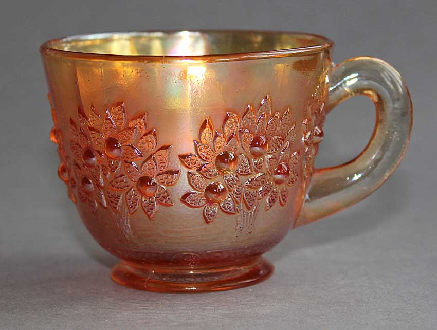 Orange Tree punch cup, marigold