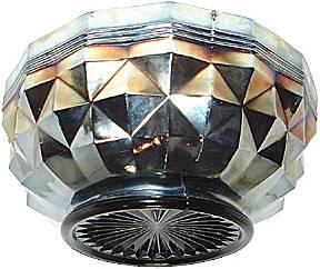 Heavy 'Banded' Diamonds bowl
