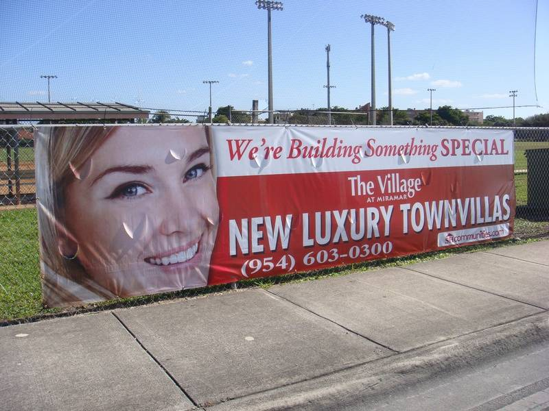 5' x 20' Full color promotional banner