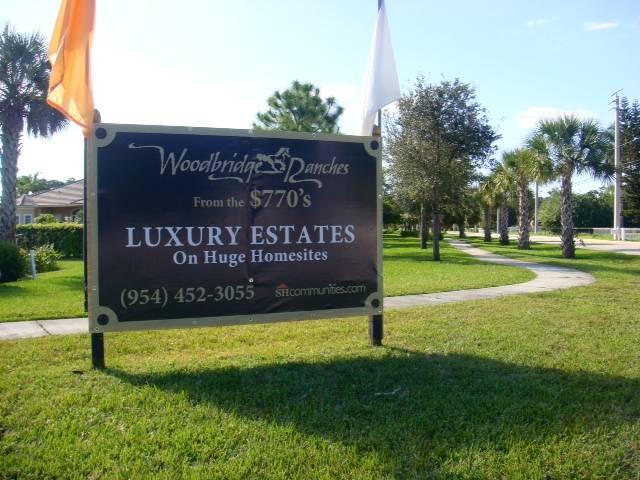 Yard sign Lurury Estates