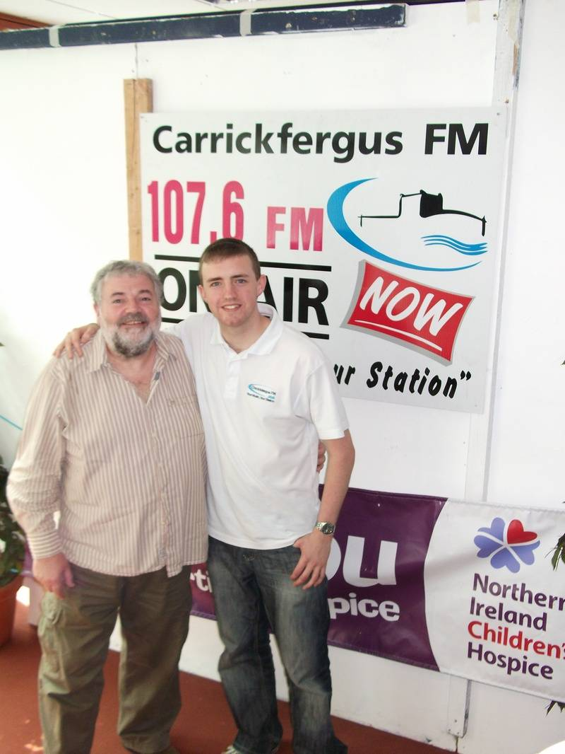 U105 presenter Ivan Martin pops in for a chat