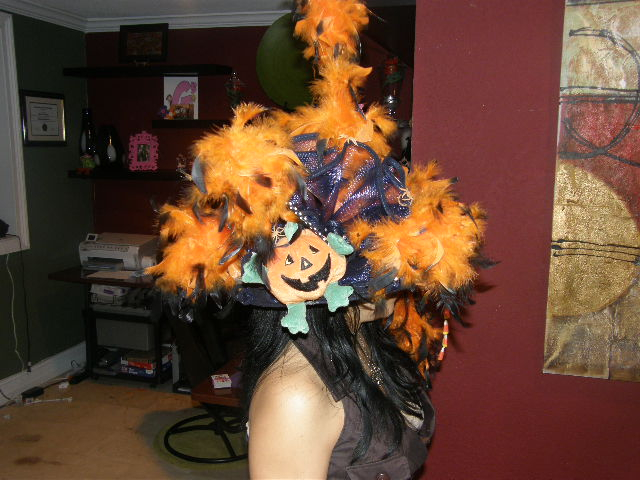 Halloween Hat Made by Yours Truly