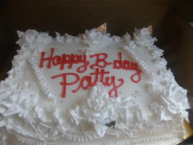 Patty's Bday!
