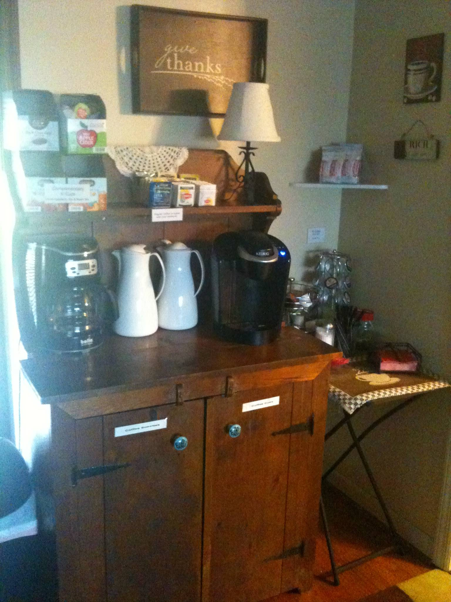 Coffee / Tea  Bar