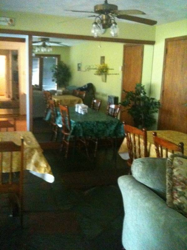dinning area /gathering room