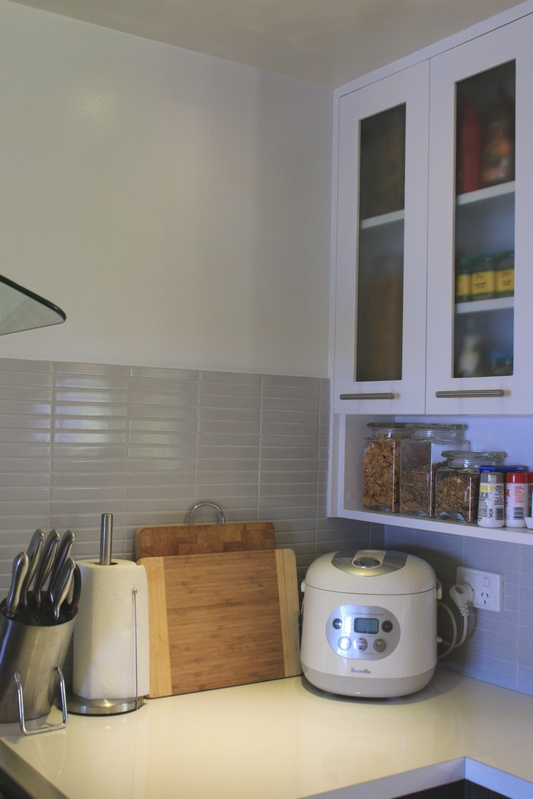 New Kitchen-spice and condiments,rice cooker,knife block