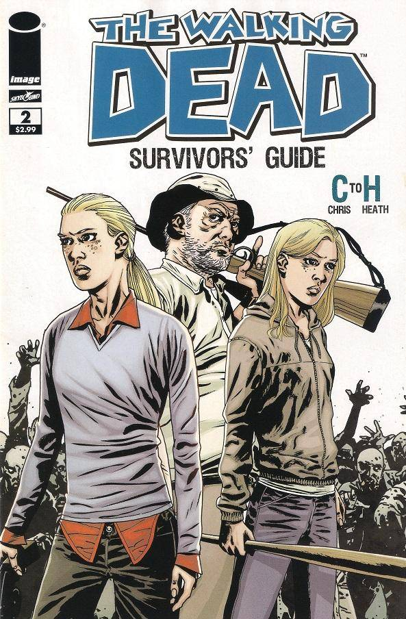 The Walking Dead Survivors guide # 3