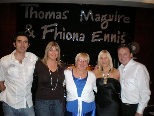 Dominic, Aisling, Nelly, FE & TM