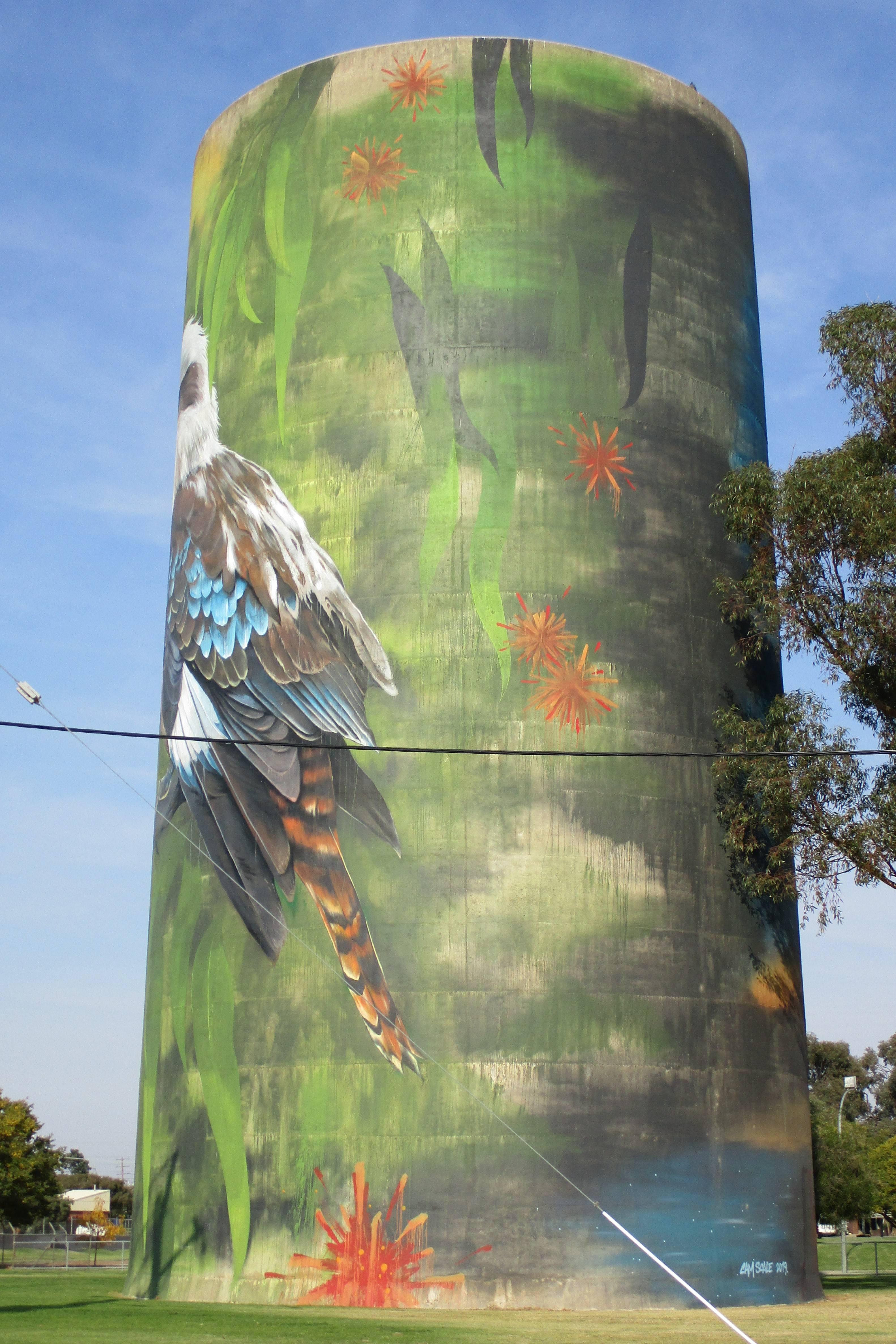 10. Deniliquin Water Tower