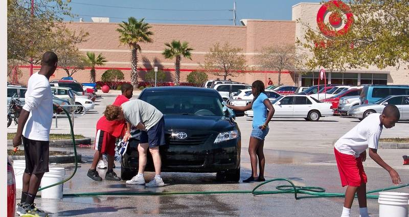 Car Wash Workers