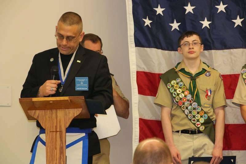 Masonic Scouters Association presentation