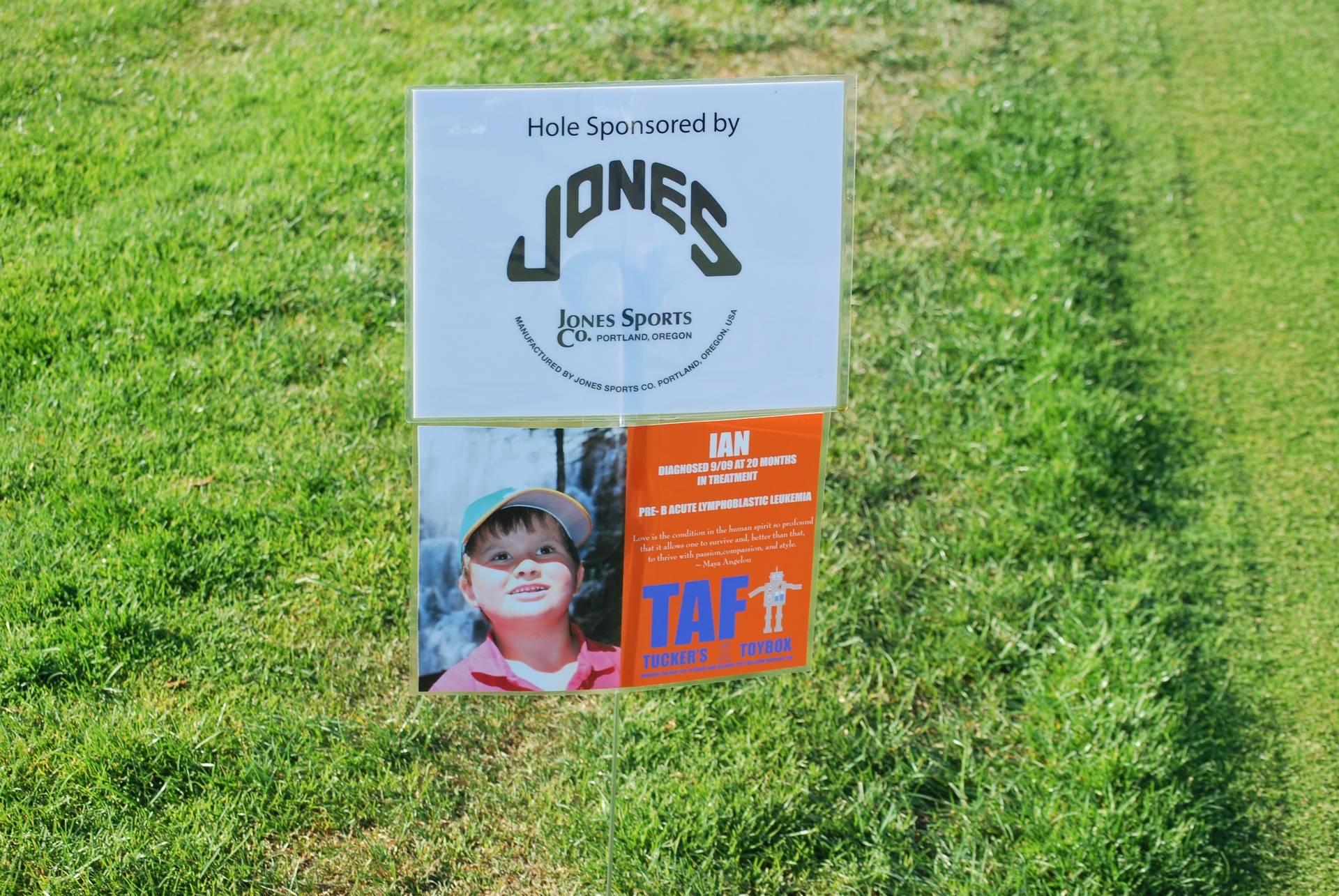 Hole Sponsored by Jones Sports Co.