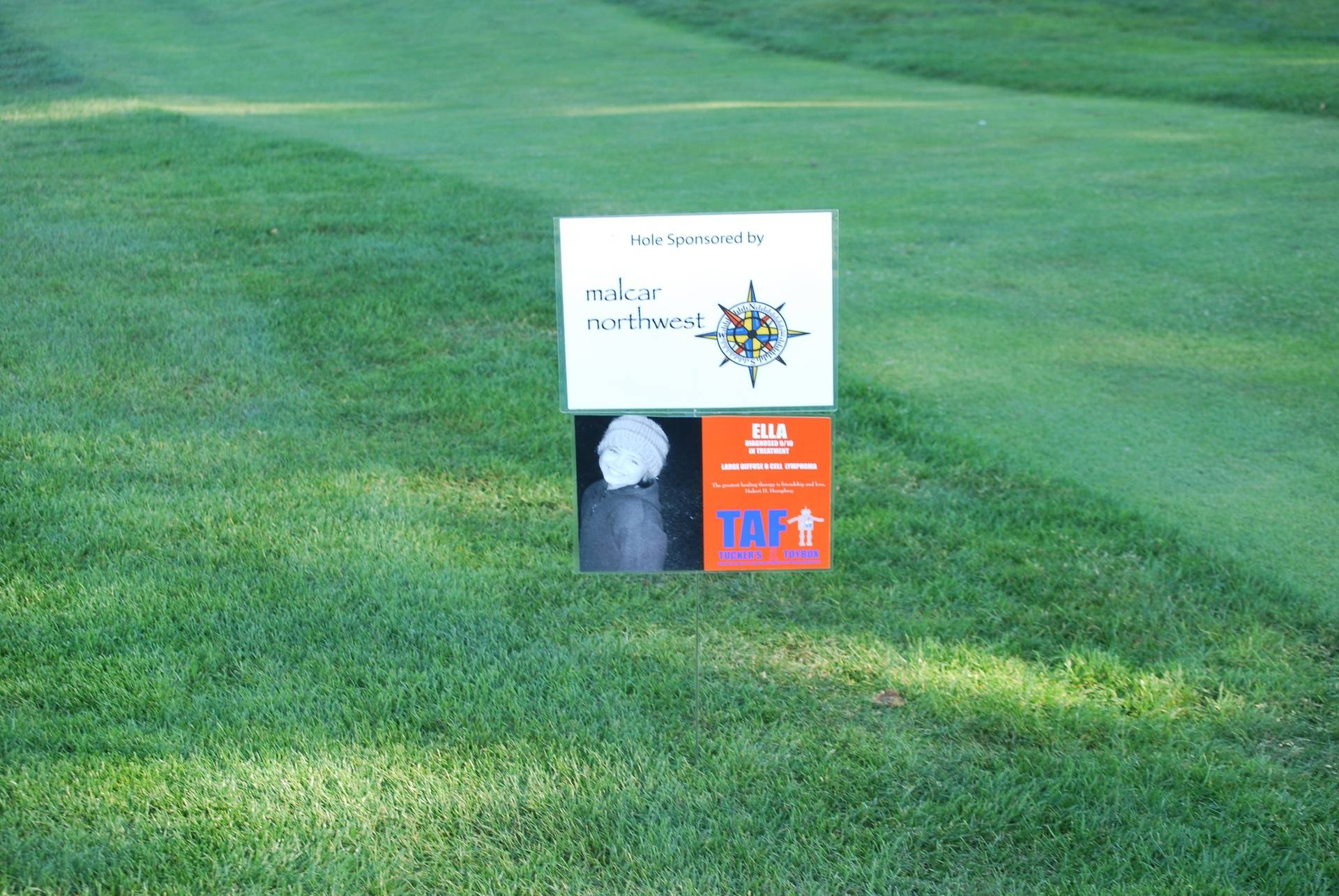 Hole Sponsored By Malcar NW