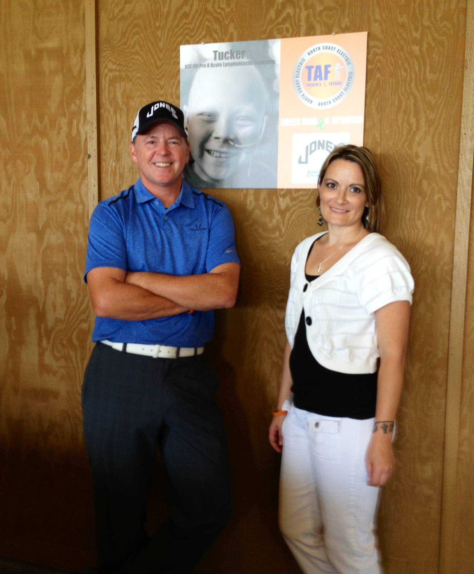 Dean Lemman, Jones Sports Co & Jen Arnold, TAF