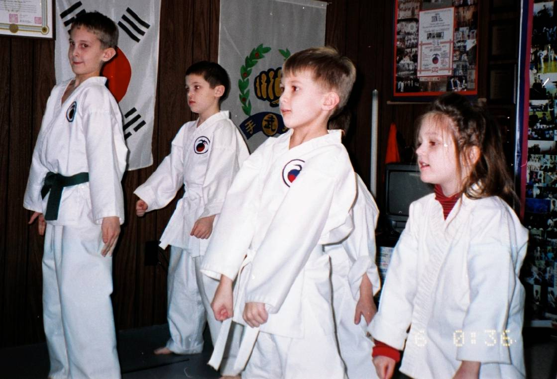 CMA at Master Vinnie's Kwoon (School) 2002