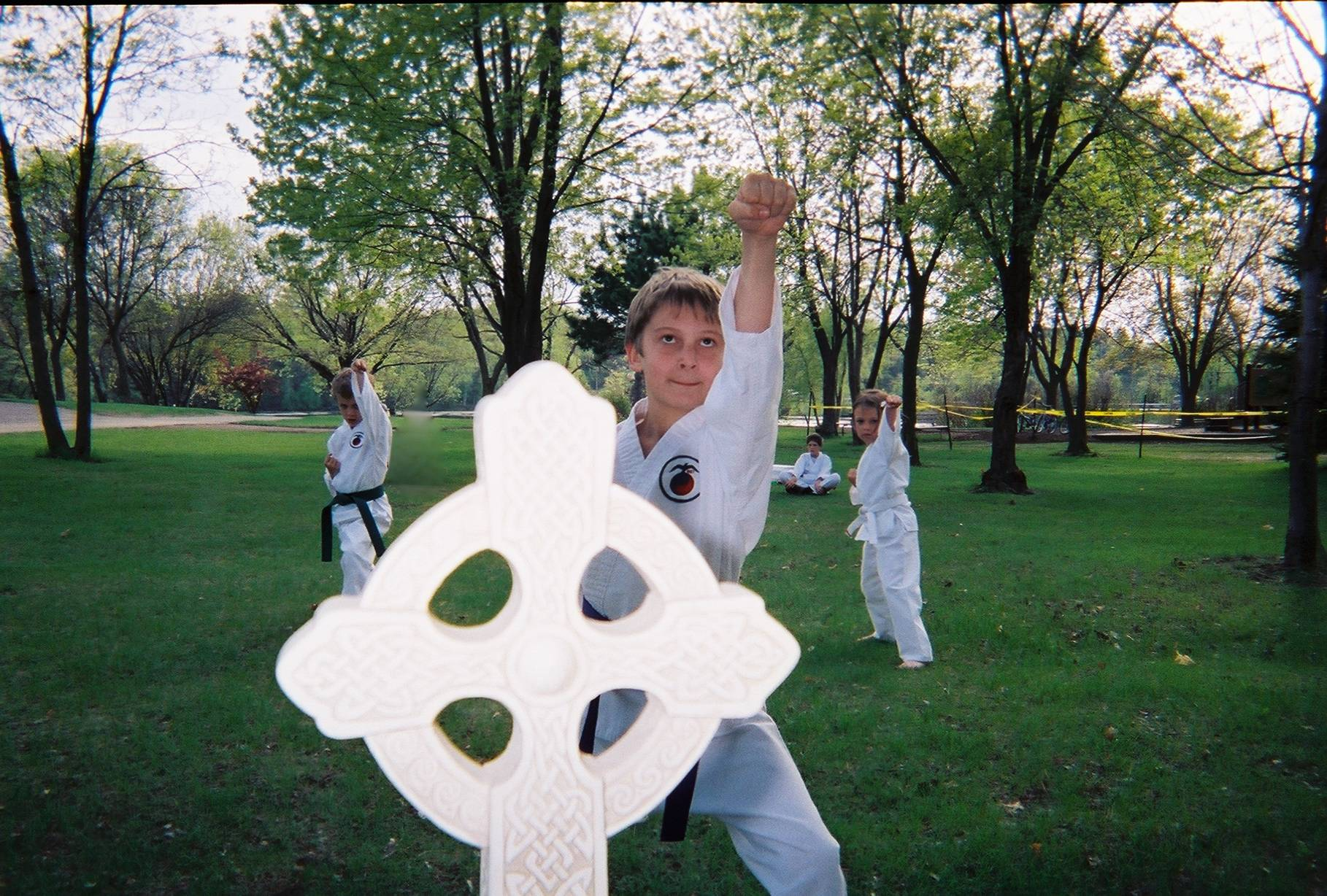 BE!-coming Christ-centered martial artists!
