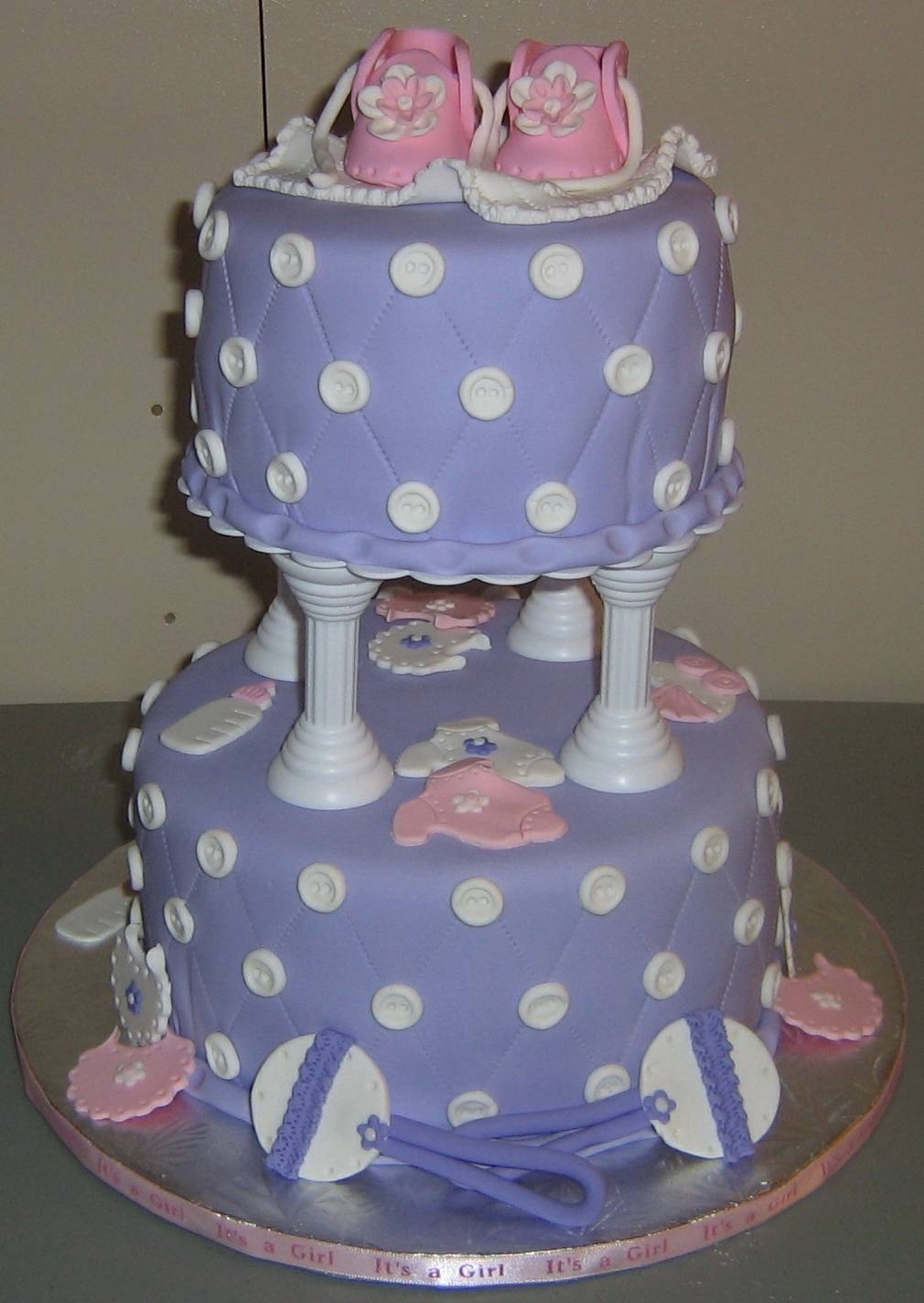Baby Shower In Purple