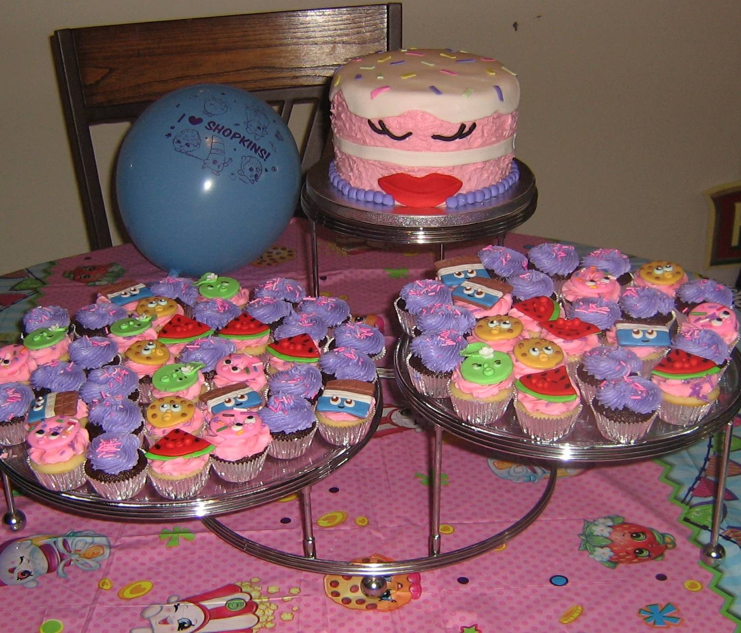 Shopkins Cake Time