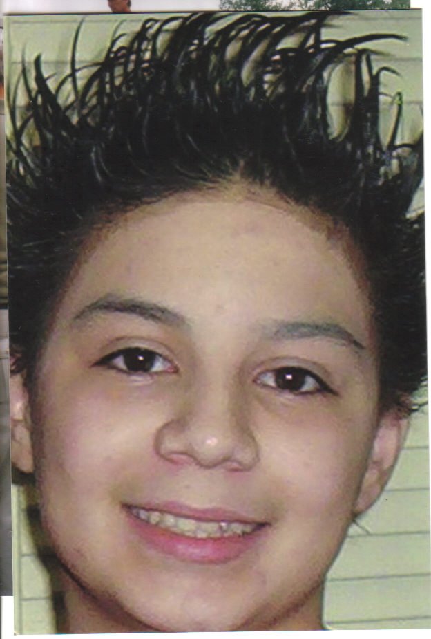Tyree Bastidas's look at 12 years old