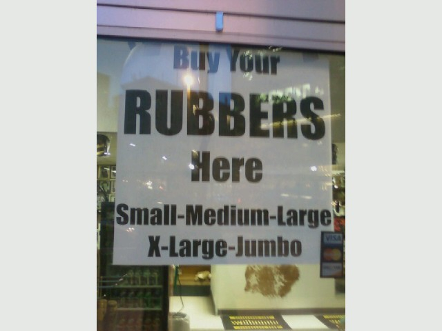 Shoe Rubbers