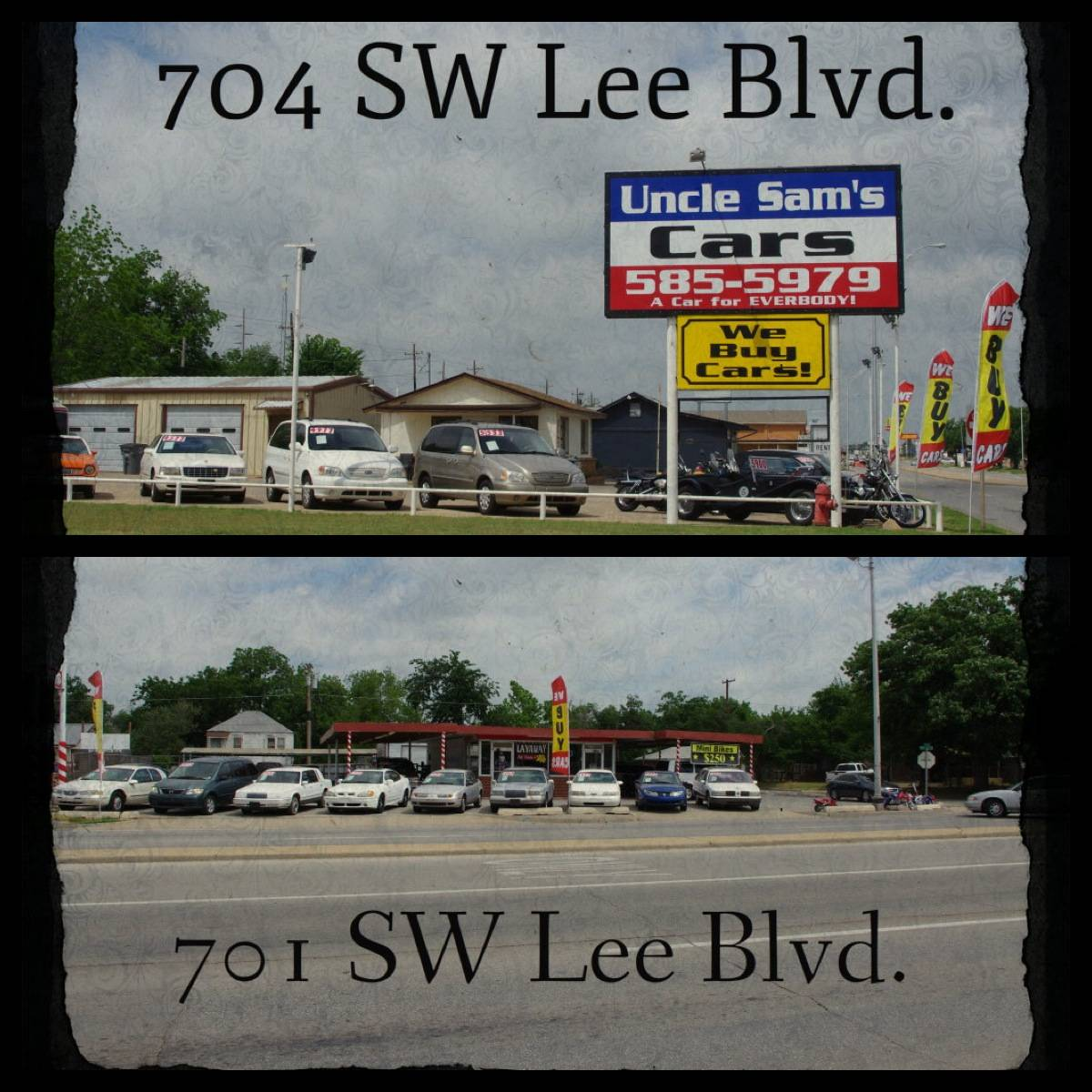 **On the North & South Corner of 7th and Lee Blvd. , 701 SW Lee Blvd., 704 SW Lee Blvd., Lawton, OK, 73501, US