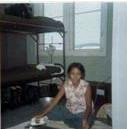 Housegirl ironing