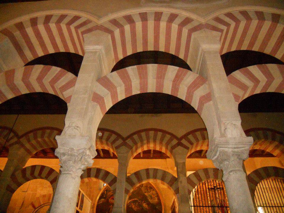 In the Ancient Mosque in Cordoba