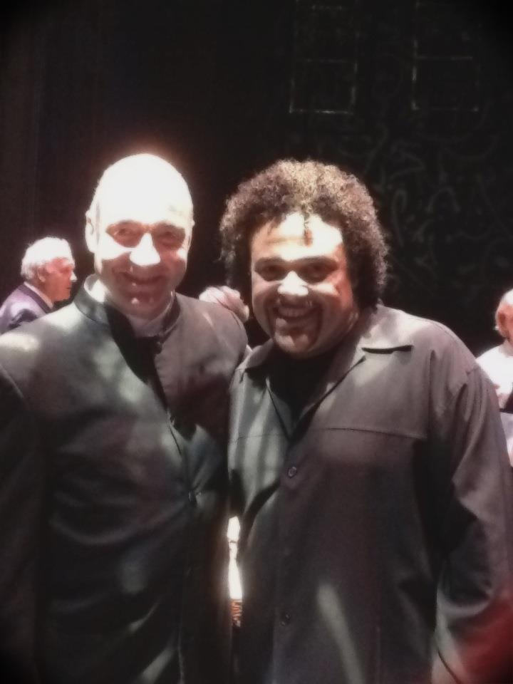 With the Truly Great Pedro Eustache