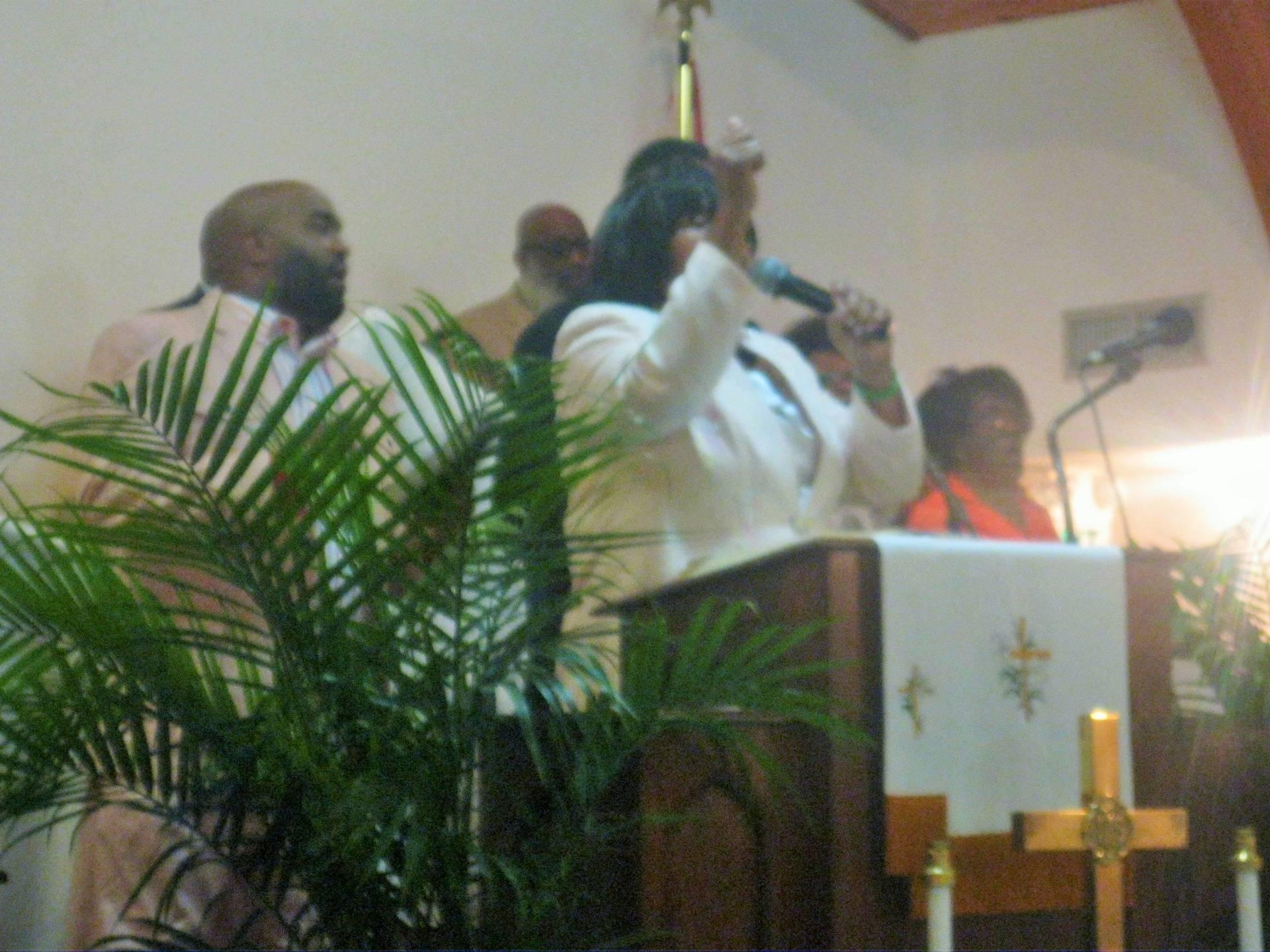 Resurrection Sunday:  Ward Chapel & Pilgrim Rest
