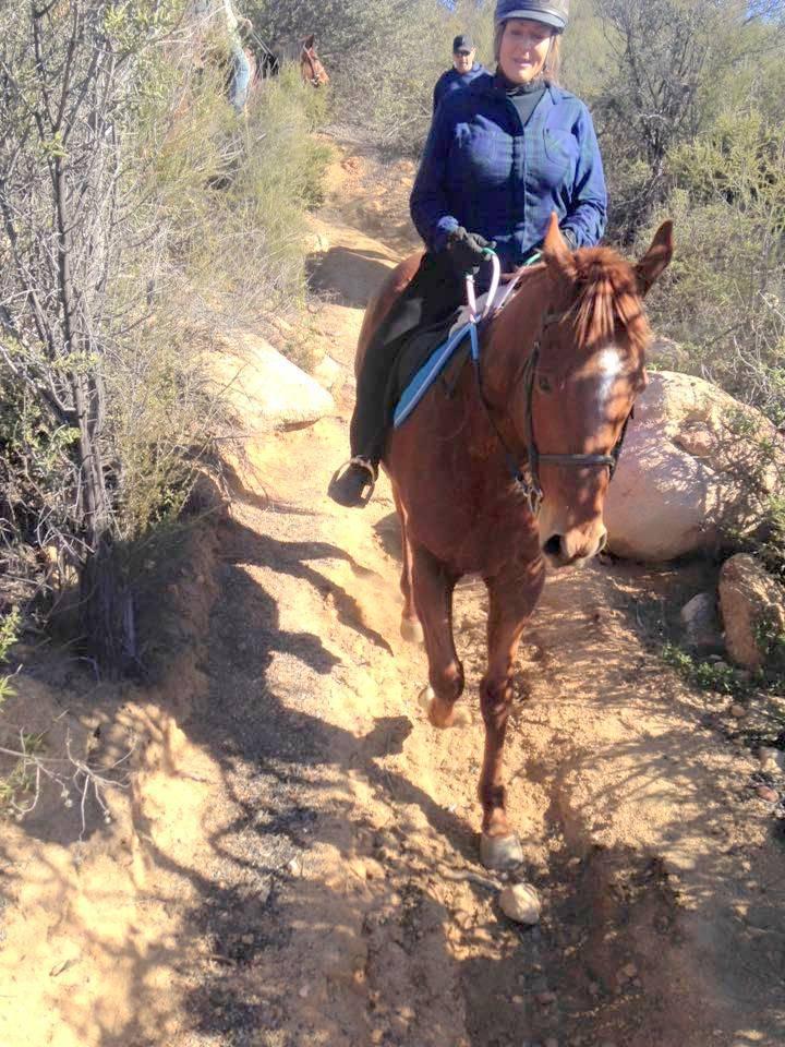 La Cresta Mountains on horseback