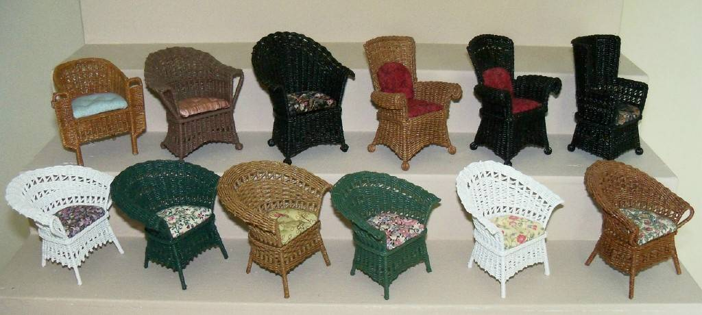 A collection of chair styles