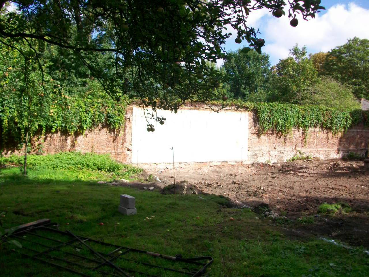 Site of old beehut