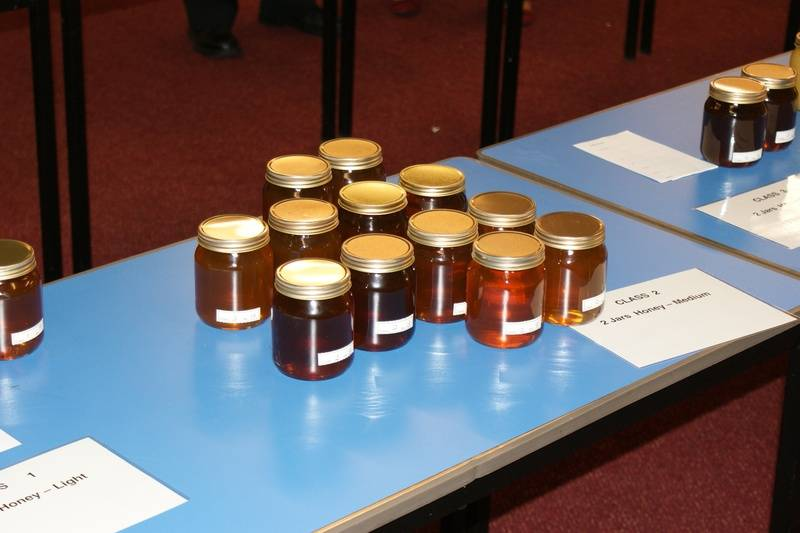 Some of the honey