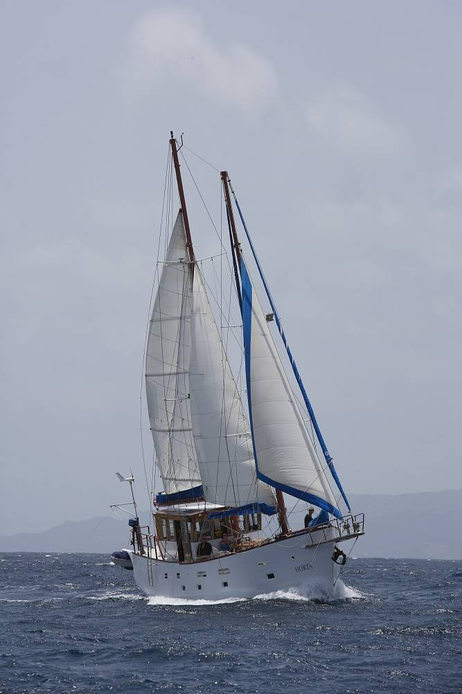 zeilvakantie caribisch gebied onderweg naar de cay's