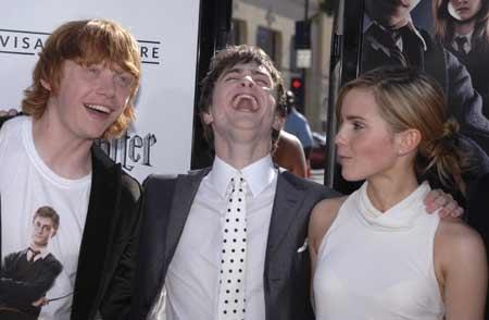 Dan, Emma and Rupert
