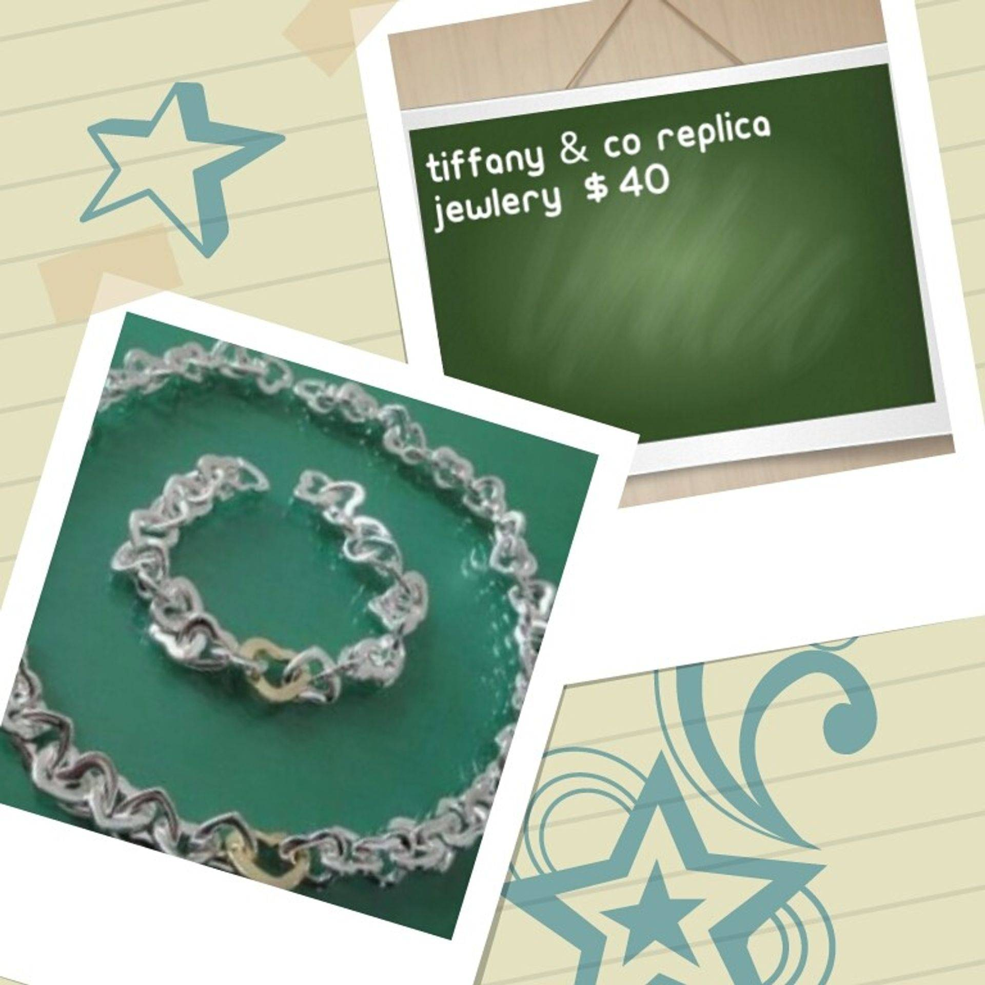 Tiffany & Co necklace and bracelet set