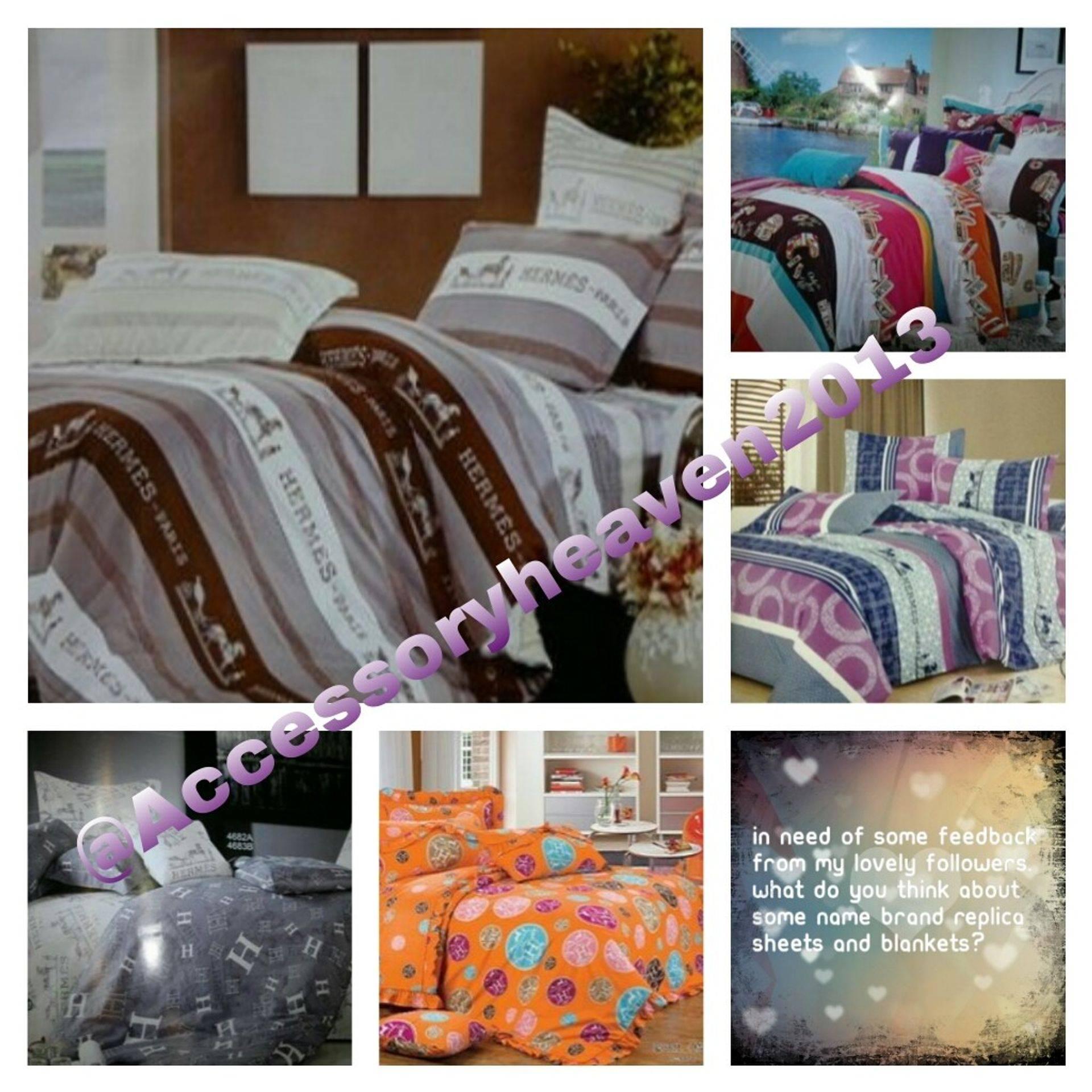 Hermes bedroom sheet sets
