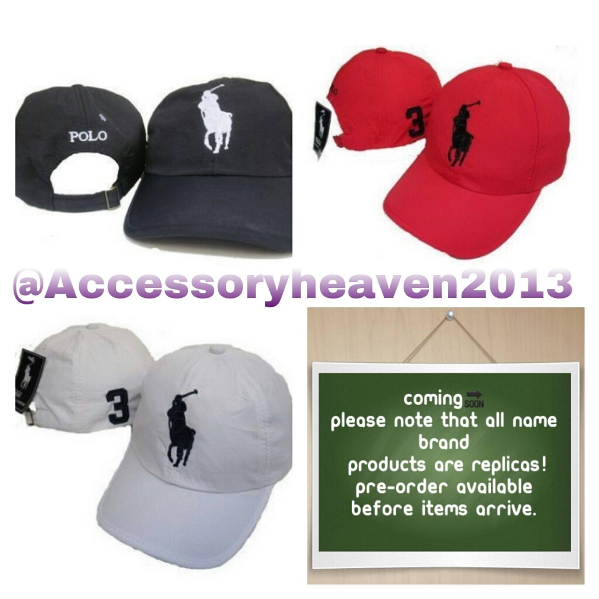 Unisex Polo Hats