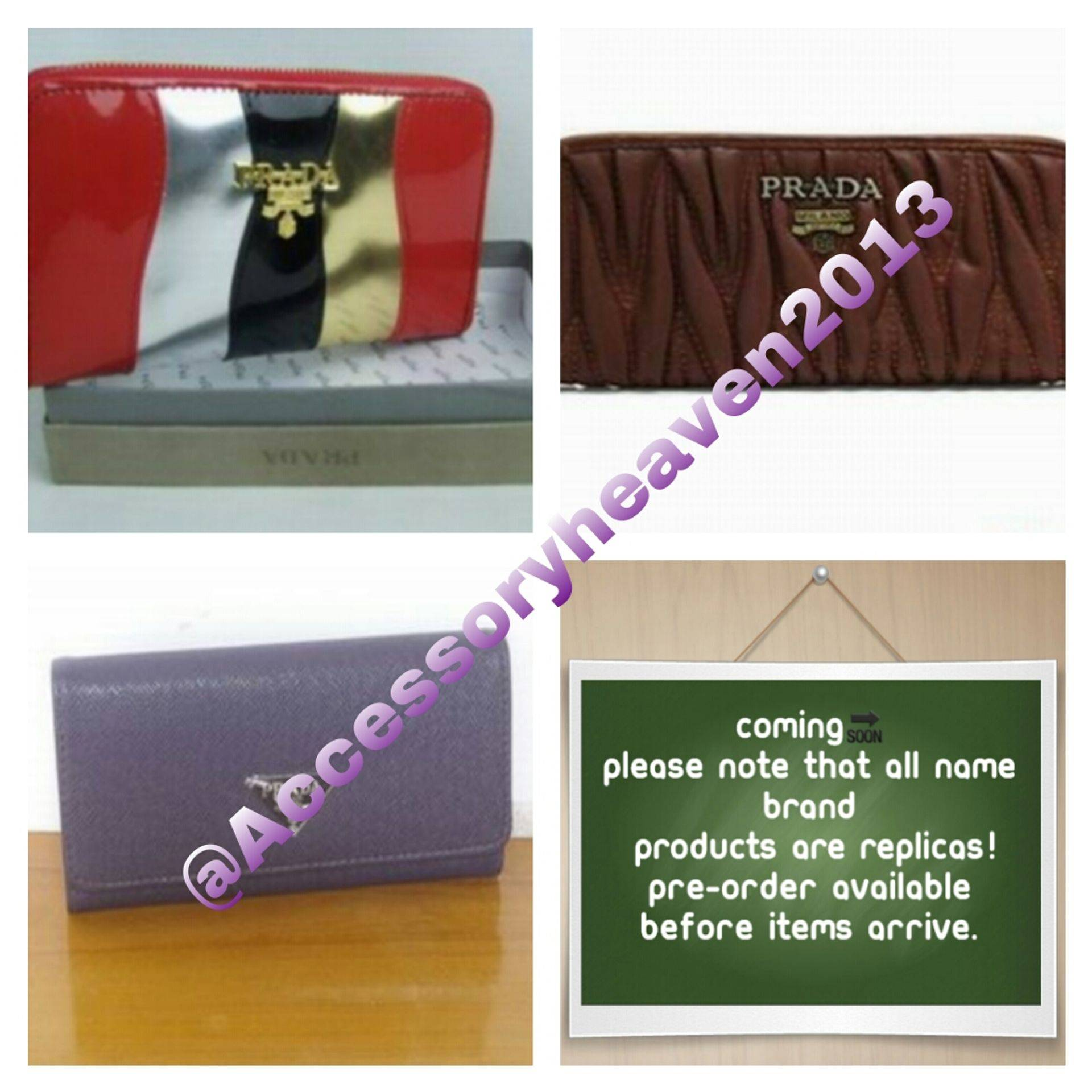 Womens Prada Wallet